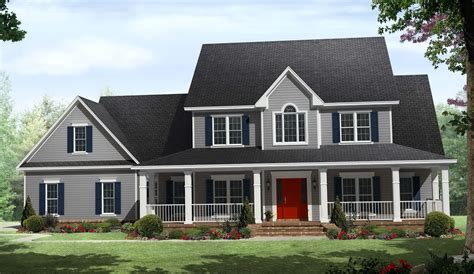 images one level country house plans one story country house plans with wrap around porch wrap
