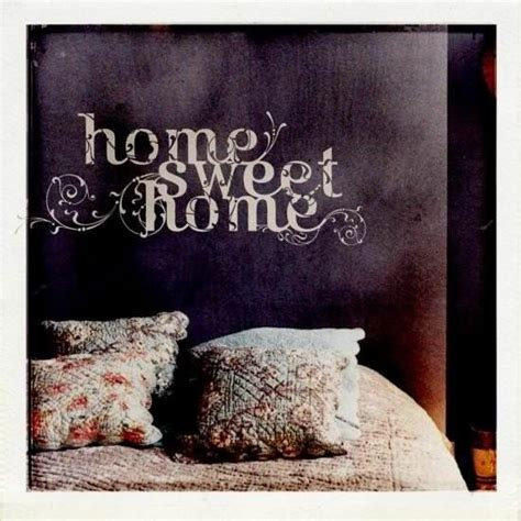 sticker mural home sweet home d 233 co stickers et papiers peints design from