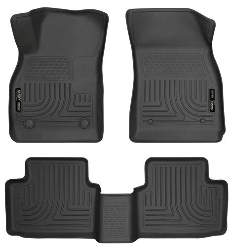 13 15 malibu 2016 malibu limited black husky weatherbeater floor mat set ebay