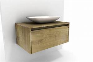 Waschtischplatte Mit Schublade : waschtisch unterschrank mit becken eiche massiv ~ Markanthonyermac.com Haus und Dekorationen