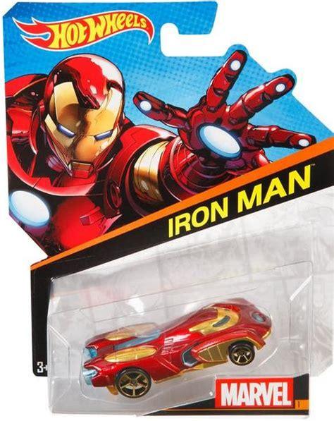 Hot Wheels Marvel Character Cars  Iron Man Hobbies