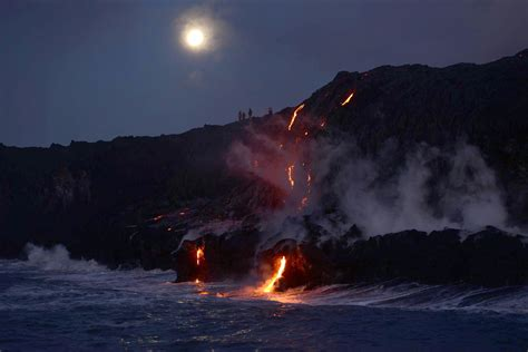 Lava Boat Tour Hawaii by Big Island Hawaii Lava Flow Tours
