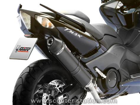 yamaha tmax 530 pot d 233 chappement mivv steel black scooter station