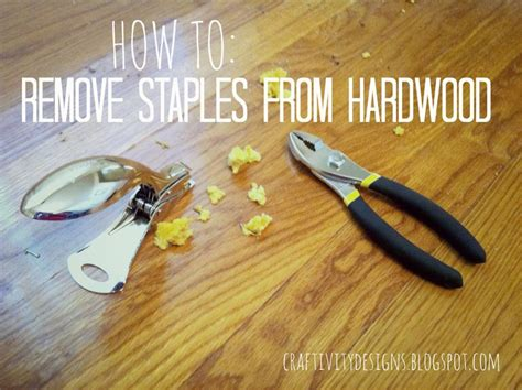 how to remove carpet staples from wood floors the easy way craftivity designs