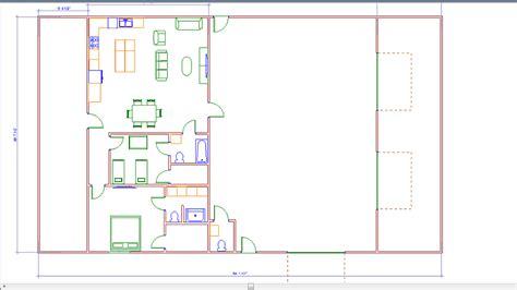 40x80 barndominium floor plans with garage free home