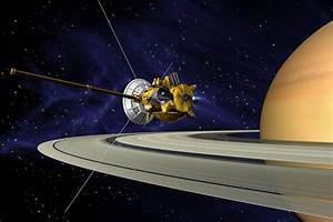 NASA's Cassini Spacecraft Touched Saturn Today as Part of ...