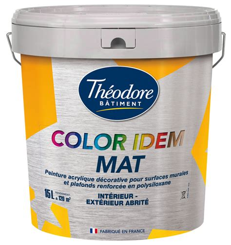 peinture mate excellent rapport qualit 233 prix sp 233 ciale grandes surfaces murs et plafonds color