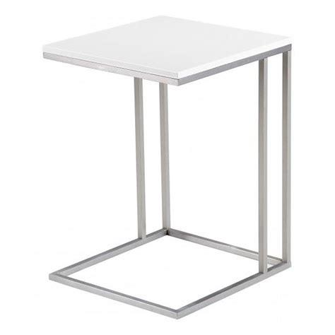 table d appoint blanc laque z en ligne