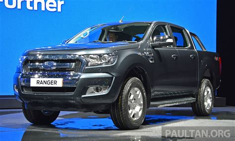 2015 ford ranger facelift makes world debut in thailand