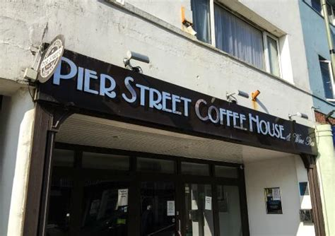 Picture Of Pier Street Coffee House & Wine Bar Aeropress Coffee Compass John Lewis Best Grinders For Office Vs V60 Grinder Seattle Maker French Press Dark Roast Luwak Kopi