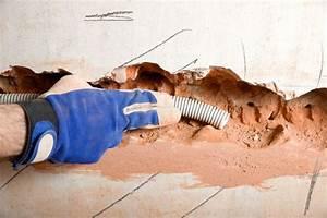 Entkopplungsmatte Auf Holz Verlegen : stromleitungen unter putz verlegen schritt f r schritt anleitung ~ Markanthonyermac.com Haus und Dekorationen