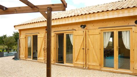 maison bois en kit de 108m 178 en bois en kit