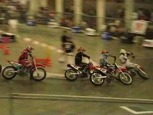 San Jose Indoor flat track action 2010 - YouTube