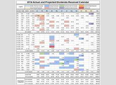 Introducing the 2014 Dividend Calendar WriteYourOwnReality
