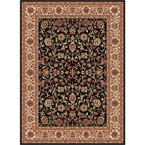the home depot area rugs mohawk home rainbow multi 6 ft x 9 ft area rug 512712