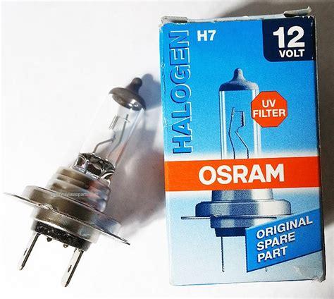 OSRAM Halogen H7 55V UV Filter