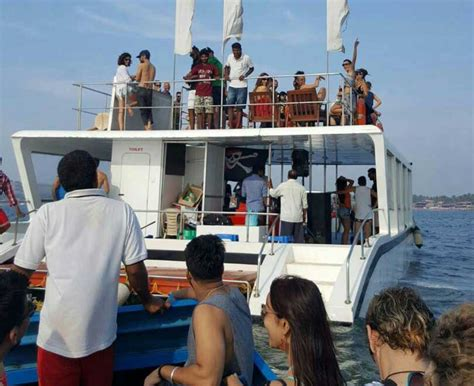 Goa Boat Party by Party Adventure Cruise Goa Snorkeling Fishing