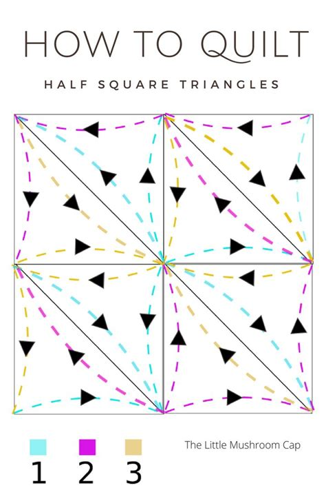 Triangle Quilt Border Templates by Best 25 Half Square Triangles Ideas On Pinterest