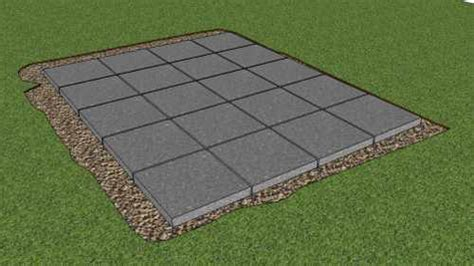 patio flooring options storage shed foundation ideas best gravel for shed foundation interior