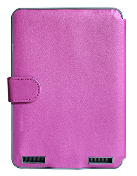 Kindle Touch Cover With Light by Purple Kindle Touch Lighted Case