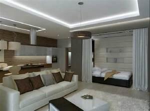 Apartment Einrichten Ideen : 1 raum wohnung gestalten ~ Markanthonyermac.com Haus und Dekorationen