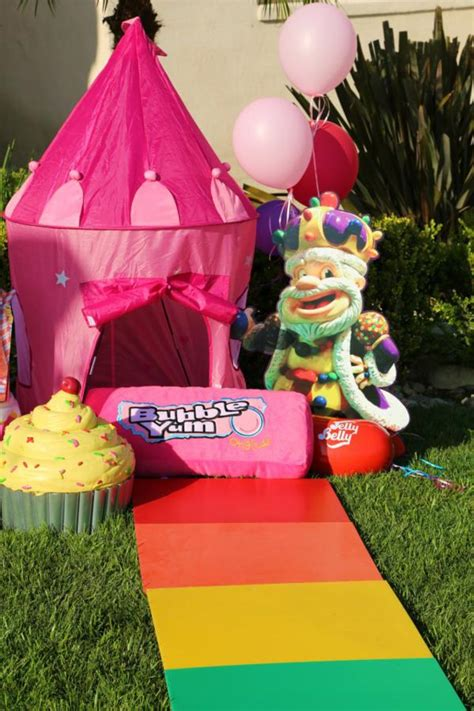Kara's Party Ideas Candy Land Game Sweets Boy Girl 2nd