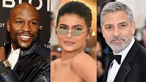 Floyd Mayweather, George Clooney lead world's highest paid ...