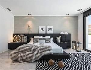 Schlafzimmer Grün Grau : wandfarbe grau 29 ideen f r die perfekte hintergrundfarbe in jedem raum ~ Markanthonyermac.com Haus und Dekorationen