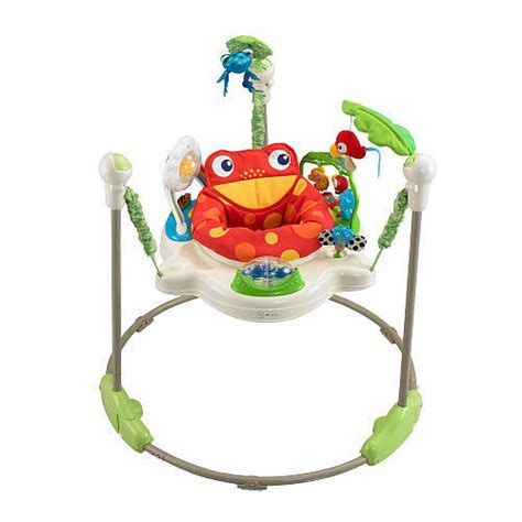 fisher price rainforest jumperoo comfortable rotating seat baby jumper k6070 ebay