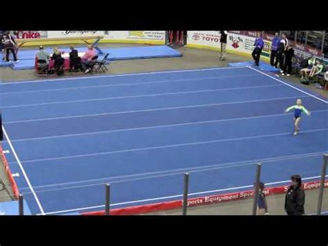 talia denis level 6 gymnastics floor routine
