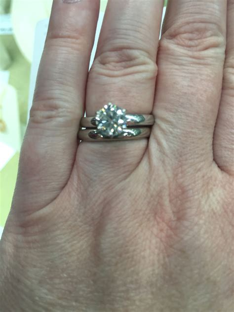 Wedding Band With Engagement Ring Combo…thoughts???