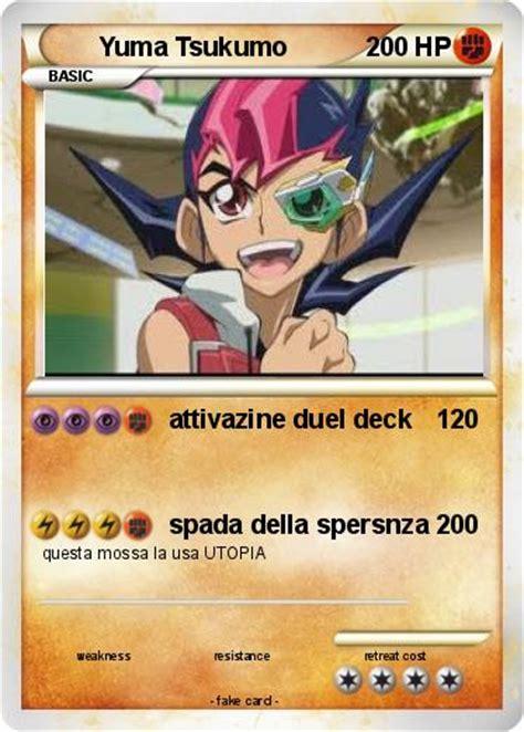 pok 233 mon yuma tsukumo attivazine duel deck my card