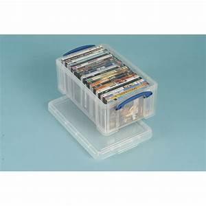 Cd Boxen Kunststoff : really useful box die clevere aufbewahrungsbox fassungsverm gen 9 0 l ~ Markanthonyermac.com Haus und Dekorationen
