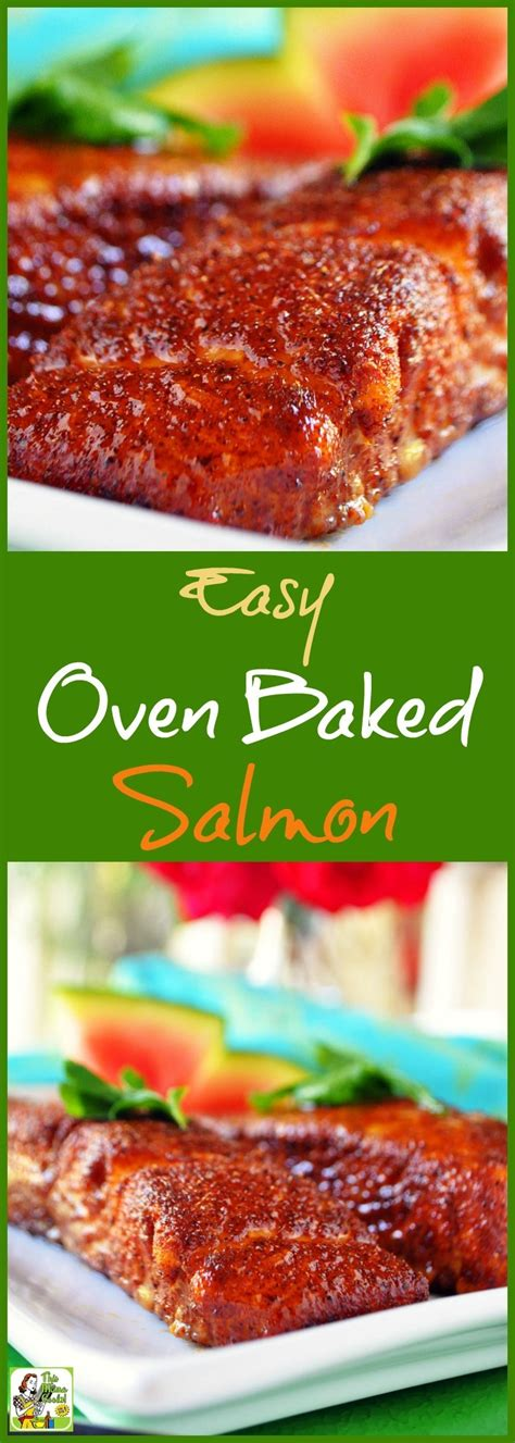 Easy Oven Baked Salmon  This Mama Cooks! On A Diet™