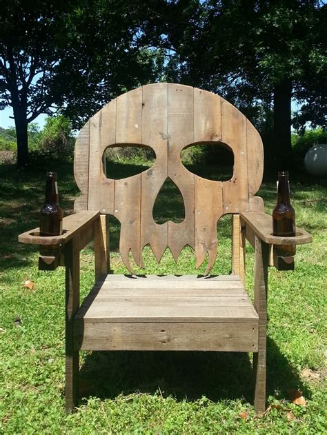 pallet skull chair 1001 pallets
