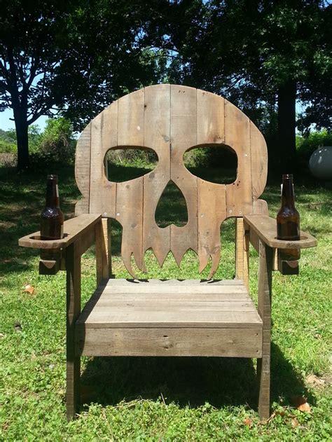 pallet skull chair 1001 pallets