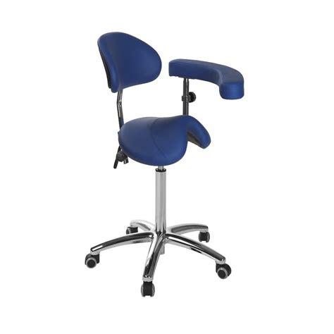 tabouret ergonomique s 5634 ecopostural base chrom 233 e avec accoudoirs pas cher chez toomed