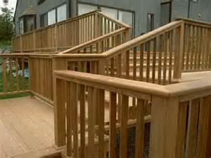 stairs the right steps on building deck stair railing with wooden flooring the right steps on
