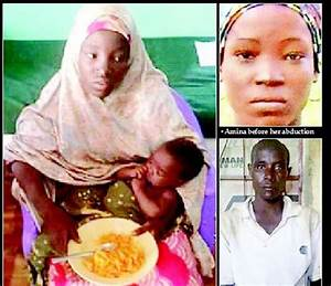 Chibok girl found with baby and husband - The Nation Nigeria