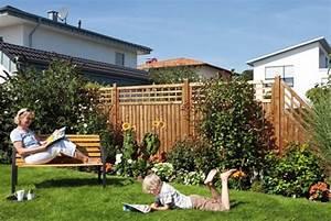Sichtschutzzaun Bambus Holz : sichtschutzzaun g nstig selber bauen ~ Markanthonyermac.com Haus und Dekorationen