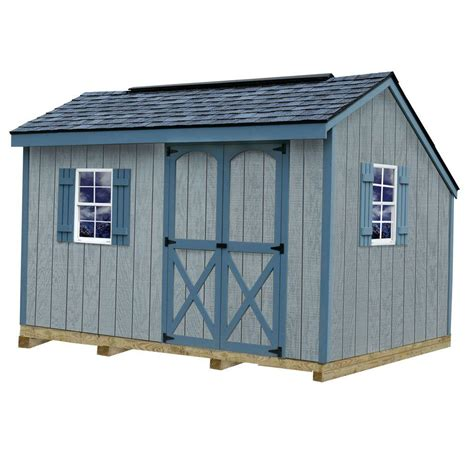 4 x 8 wooden storage shed best barns aspen 8 ft x 12 ft wood storage shed kit with