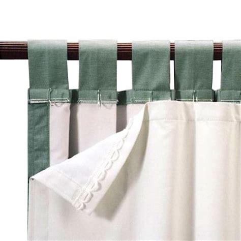 roc lon blackout energy efficient curtain panel liner white walmart