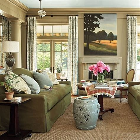 living room southern living home