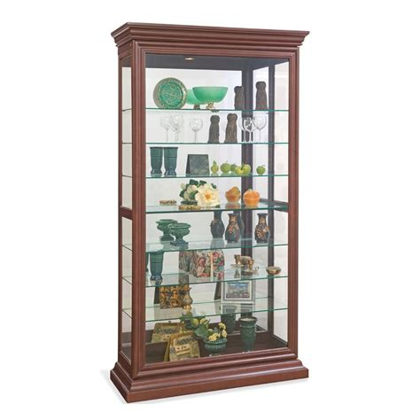 philip reinisch company 58282 lighthouse collection manifestation curio cabinet atg stores