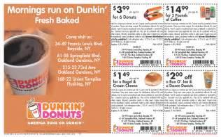 Dunkin Donuts Coupons NEW   Coupon Codes Blog