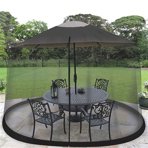 Mosquito Netting For Patio Umbrella by Outdoor Mosquito Net Patio Umbrella Bug Screen Gazebo