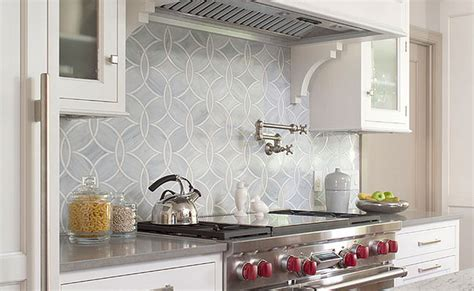White Gray Marble Mosaic Tile Backsplash  Backsplashcom