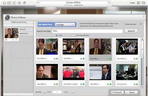 un bureau virtuel et collaboratif en ligne meetsee du mod 233 rateur