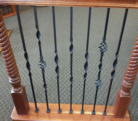 Wrought Iron Bathroom Vanities by Ribbon Twisted Iron Balusters Traditional Houston By