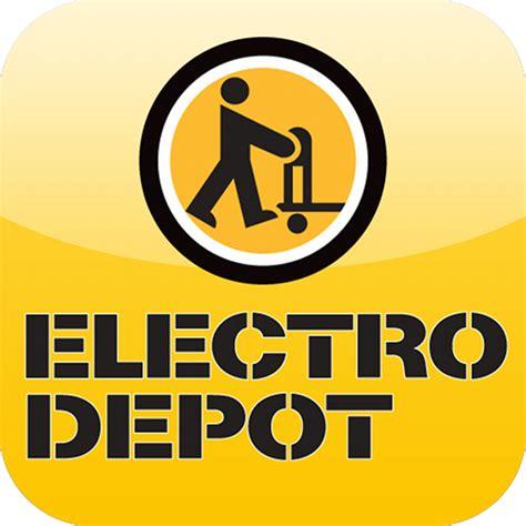 electro depot pour iphone ipod touch et dans l app store sur itunes
